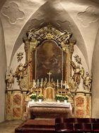 Altar der Sieveringer Kirche