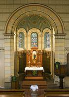 Altar der St. Alexandri Kirche in Hakeborn