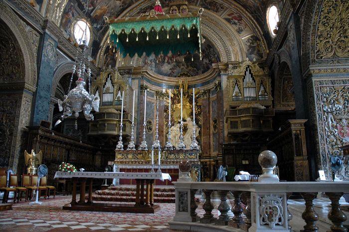 Altar der St. John's Co-Cathedral - Valletta