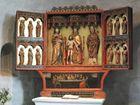 Altar der St.Severin Kirche in Keitum auf Sylt