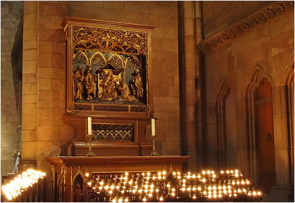 Altar im Freiburger Münster