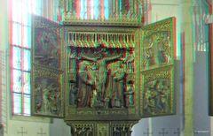 Altar in der katholischen Pfarrkirche Hallstatt