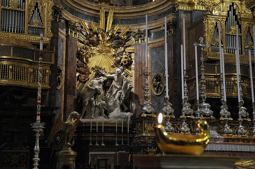 Altar in der St. John's Co Cathedral Valetta, Malta