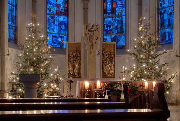 Altar in Katholische Kirche