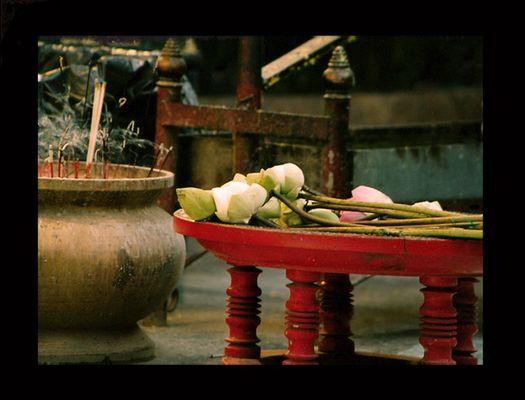 Altar in Thailand.