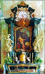 Altar Kapelle Schloss Clemenswerth