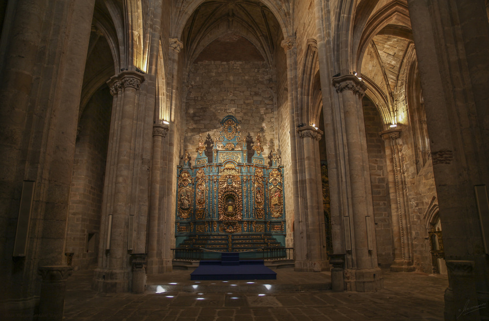 Altar Mayor Catedral Vieja (Plasencia Cáceres Extremadura España)