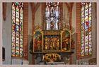 Altar von Lucas Cranach d.Ä. in der Stadtkirche in Neustadt an der Orla