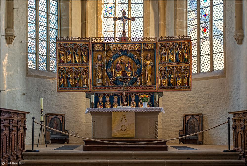 Altar von St. Stephanie