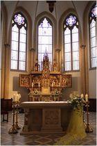 Altaransicht - St. Marien Friesoythe