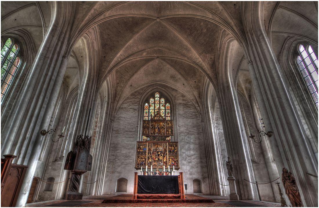 Altaransicht St.-Marien-Kirche Wittstock/Dosse