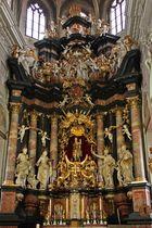 Altarbereich in einer Kirche in Bamberg
