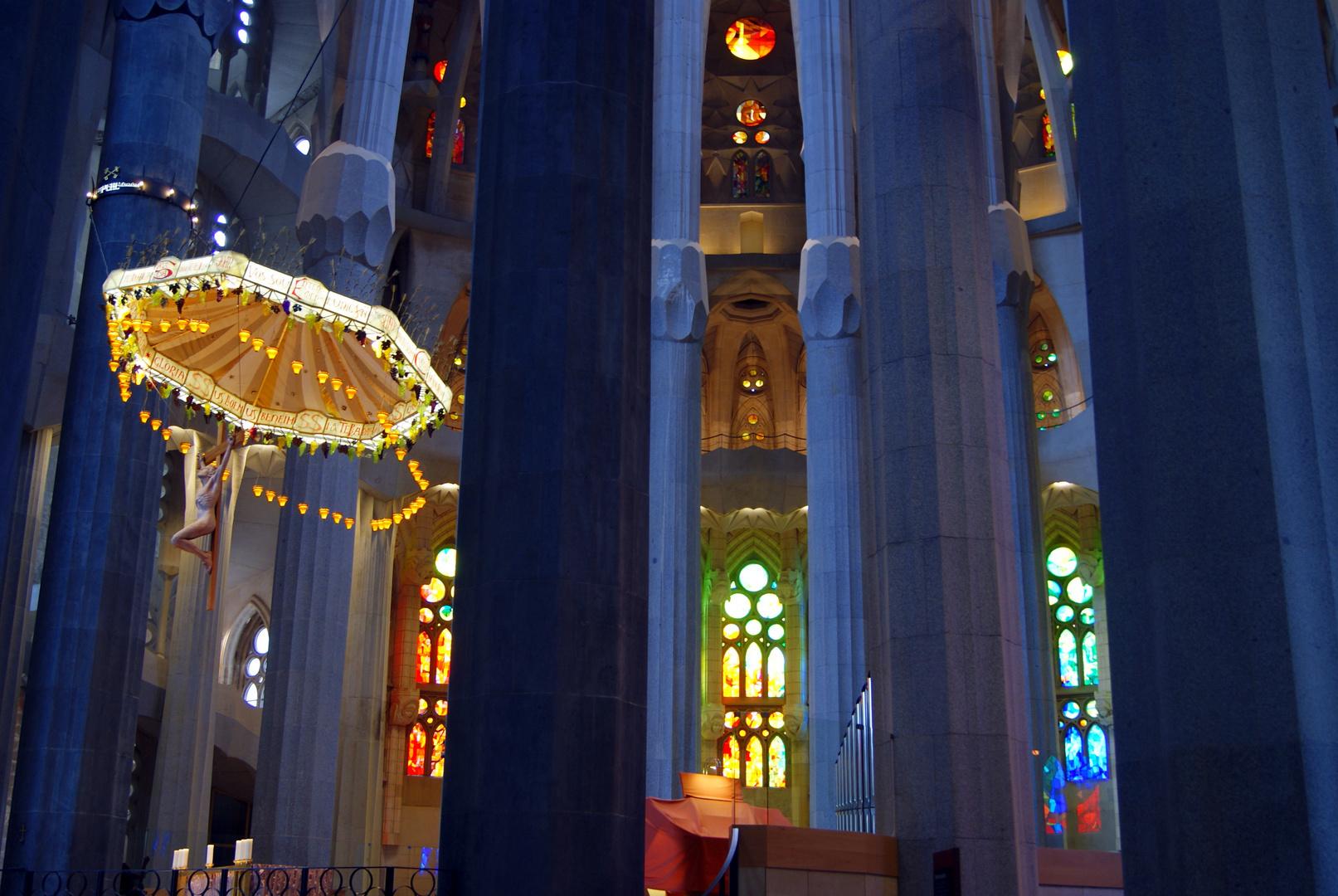 Altarraum der Sagrada Família, Barcelona