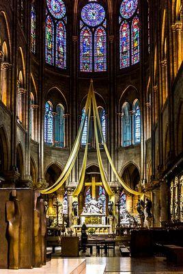 Altarraum in Notre Dame