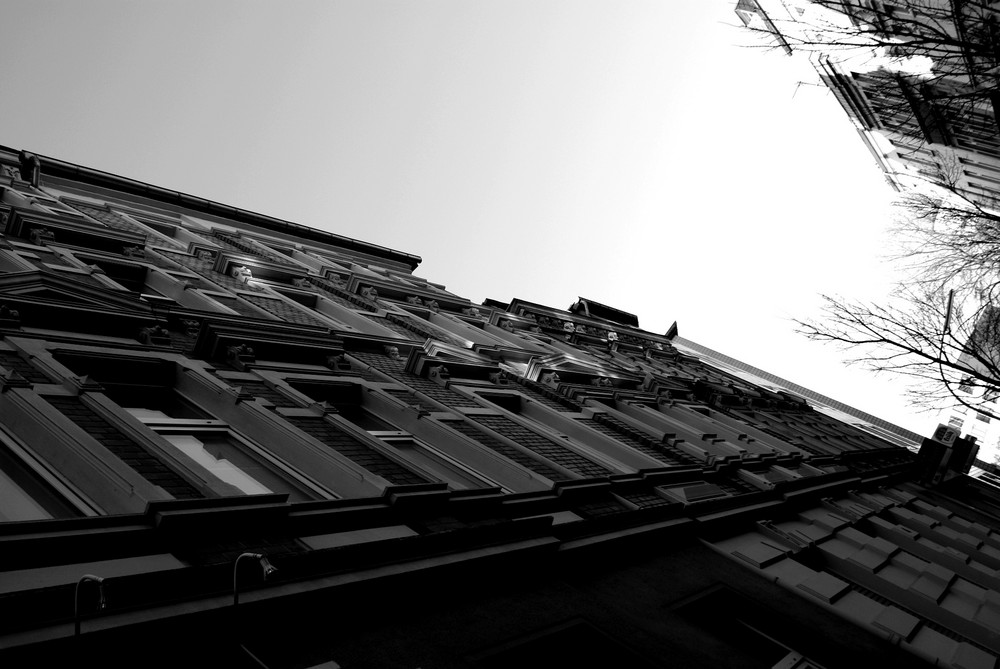 Altbauhäuserreihe
