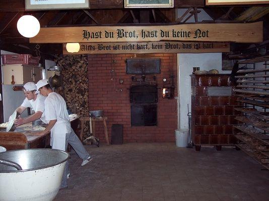 Altdeutschen Backofen neben der Bockwindmühle
