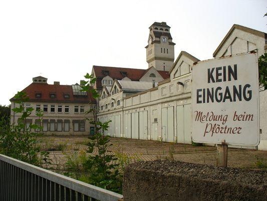 Alte AEG Fabrik in Nürnberg