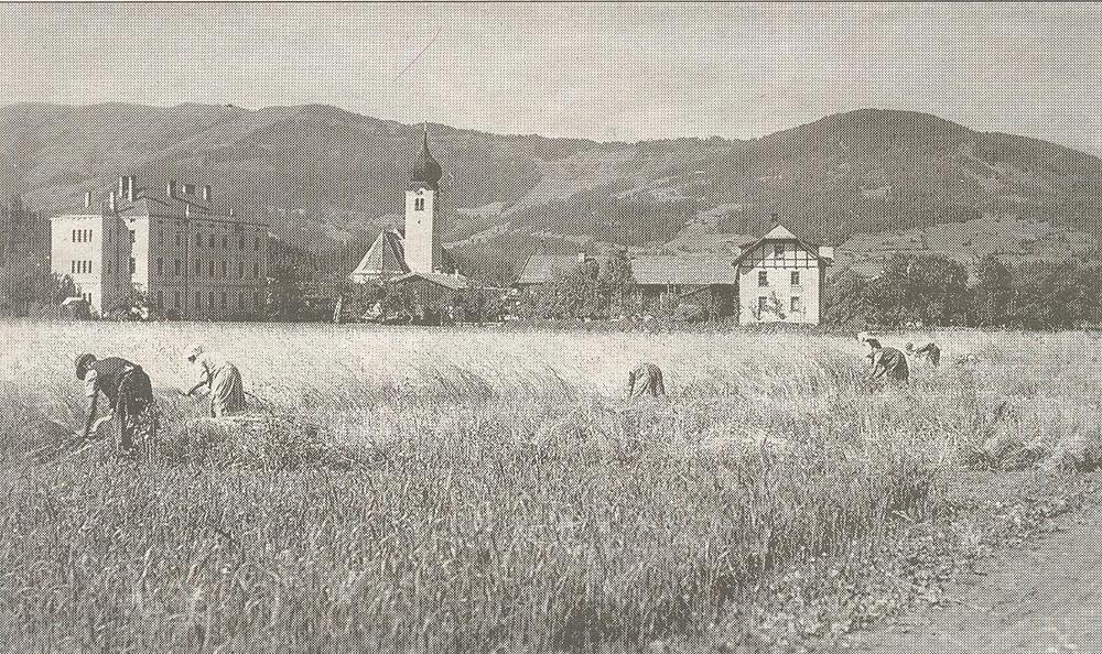 alte Ansicht von Westendorf