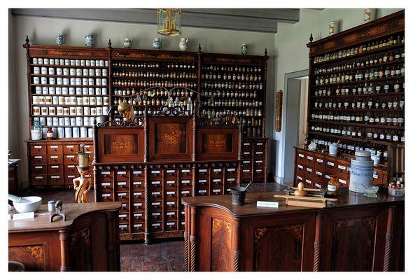 Alte Apotheke im Freilichtmuseum Molfsee