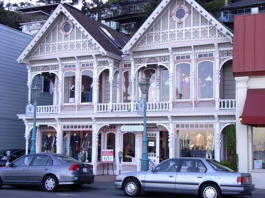 Alte Architektur in Sausalito