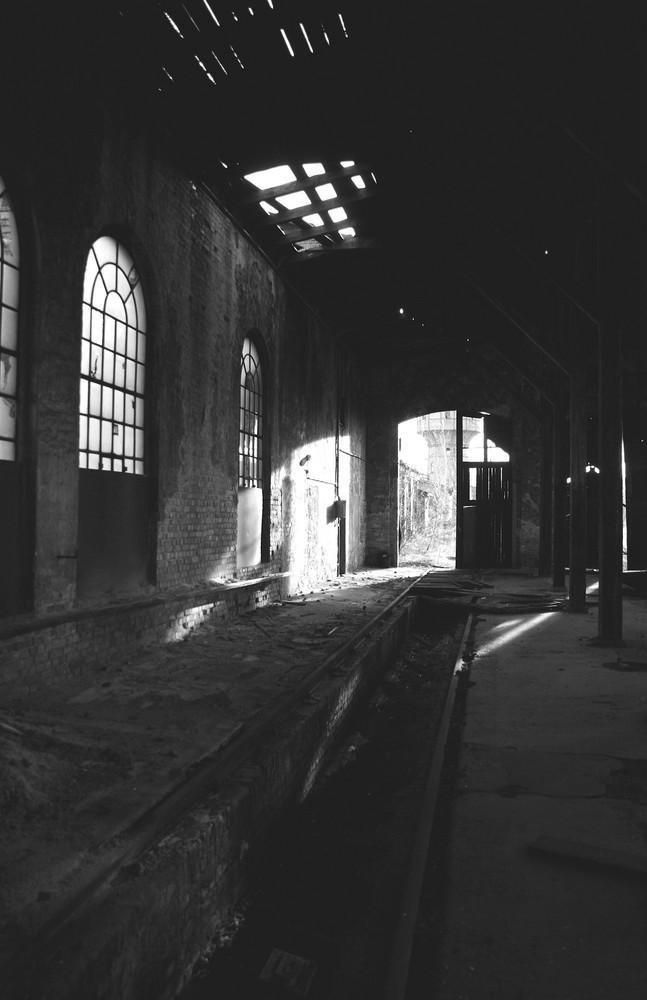 Alte Bahnhalle