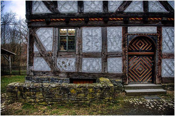 Alte Bauernhaus Fassade