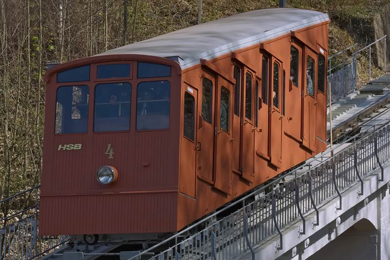 Alte Bergbahn Molkenkur / Königstuhl