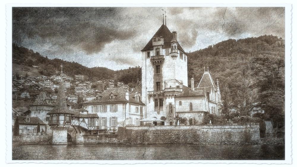 alte Bilder - Schloss Oberhofen
