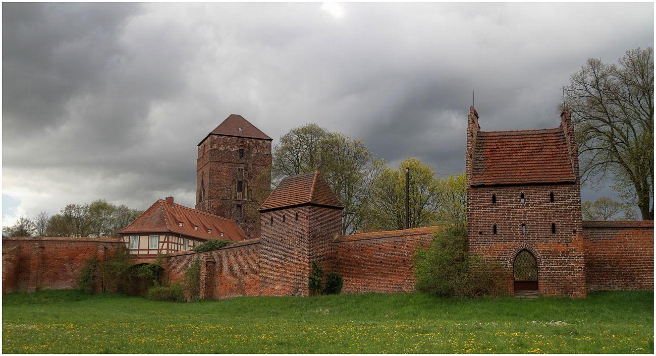 Alte Bischofsburg - Stadtmauer - Wittstock/Dosse