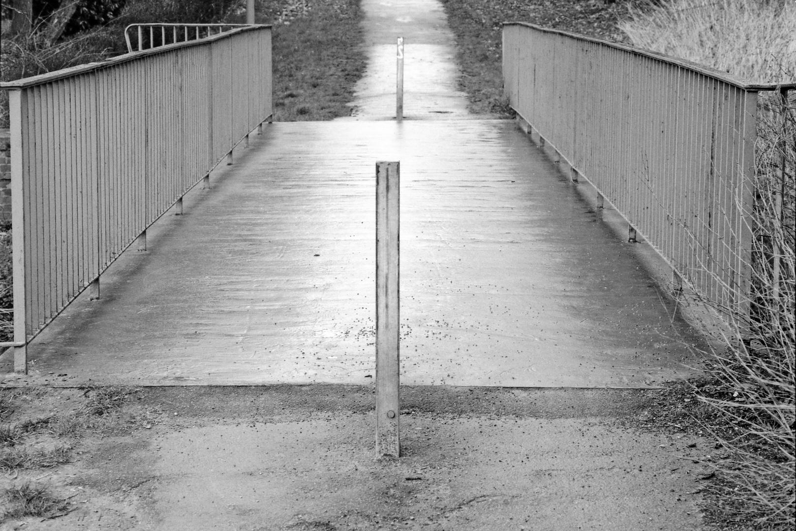 Alte Brücke am Johannisbach | Bielefeld / Schildesche | 90er Jahre