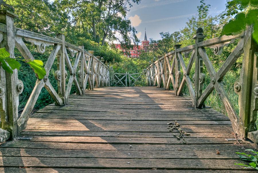 Alte Brücke am Schloss
