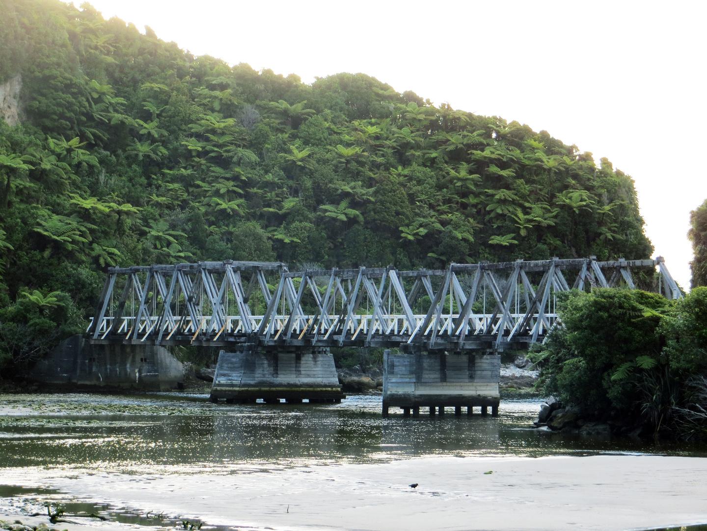Alte Brücke im Urwald