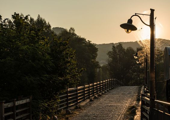 Alte Brücke in Burgau
