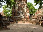 Alte Buddha Statue in Ayutthaya
