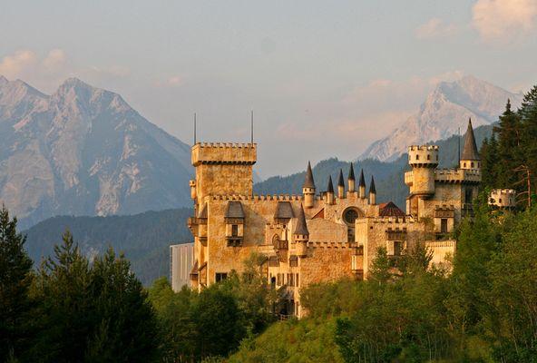 alte Burg bei Seefeld (Tirol)