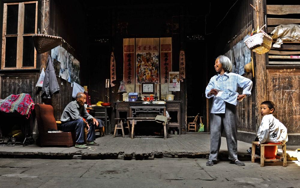 alte chinesische familie