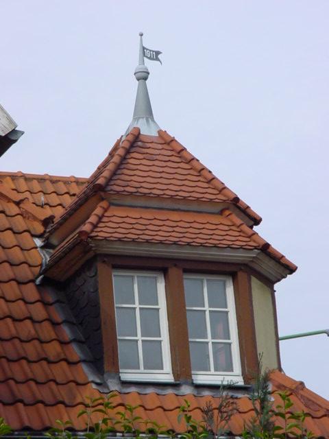 Alte Dachfenster