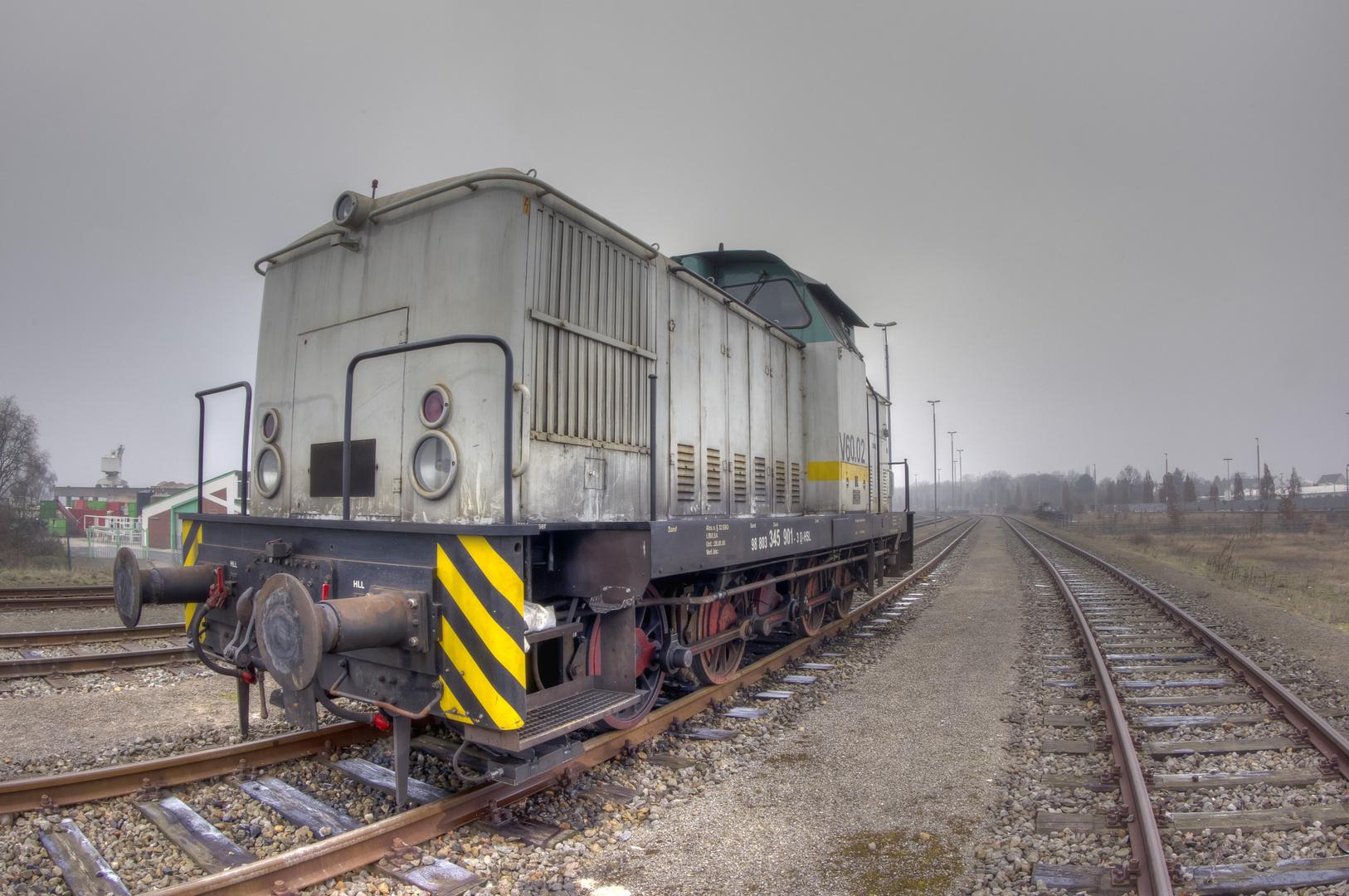 Alte Diesel-Lok
