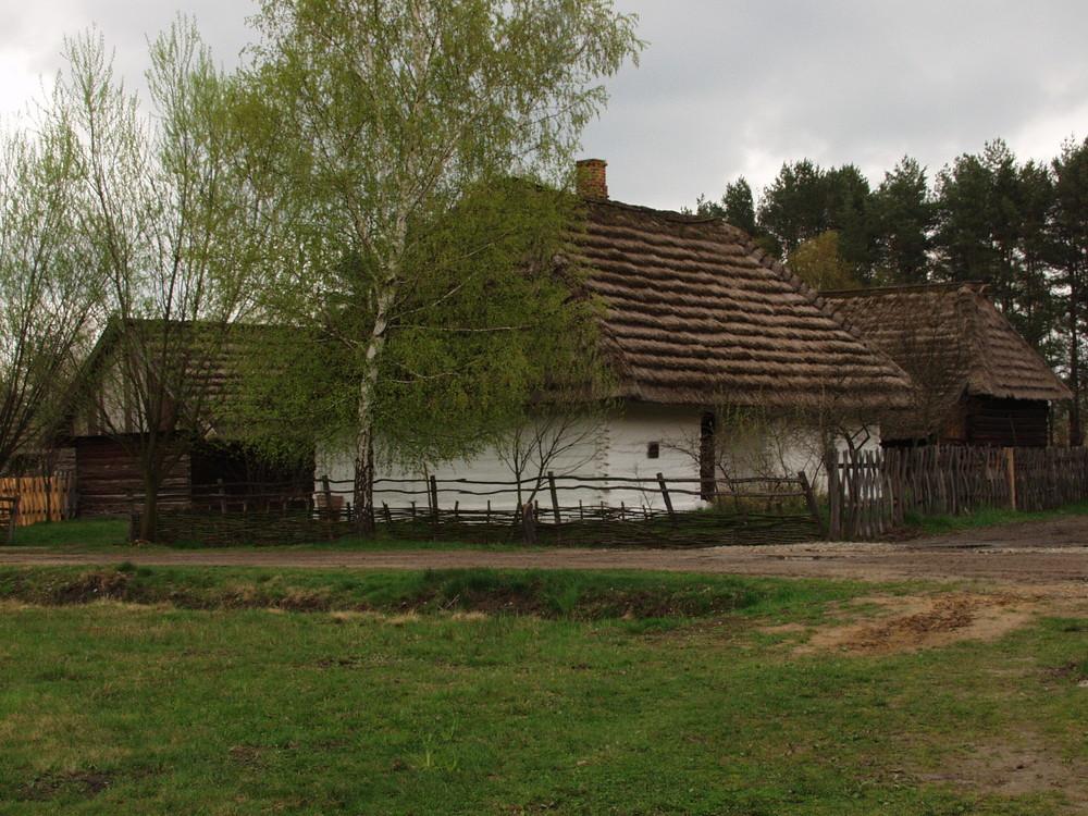 Alte Dorf Polen 1900 j.
