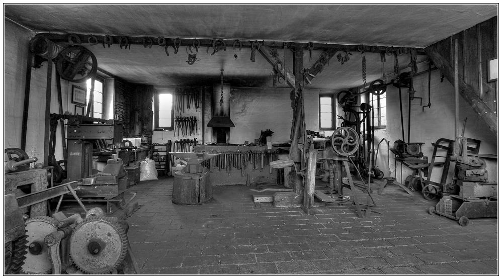 Alte Dorfschmiede...