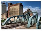 Alte Drehbrücke bei Krefeld-Linn