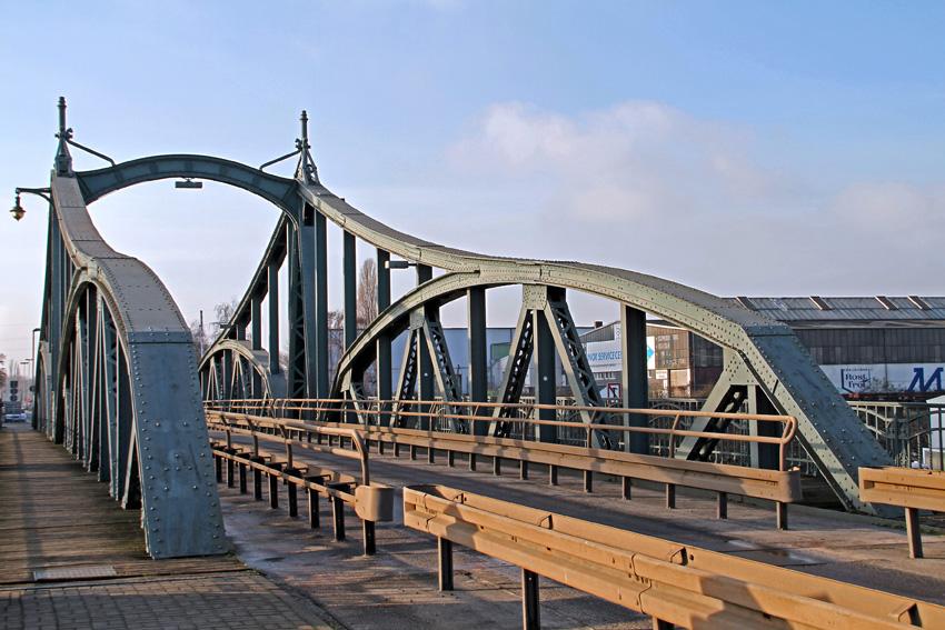 Alte Drehbrücke, Hafen Krefeld - Linn 1