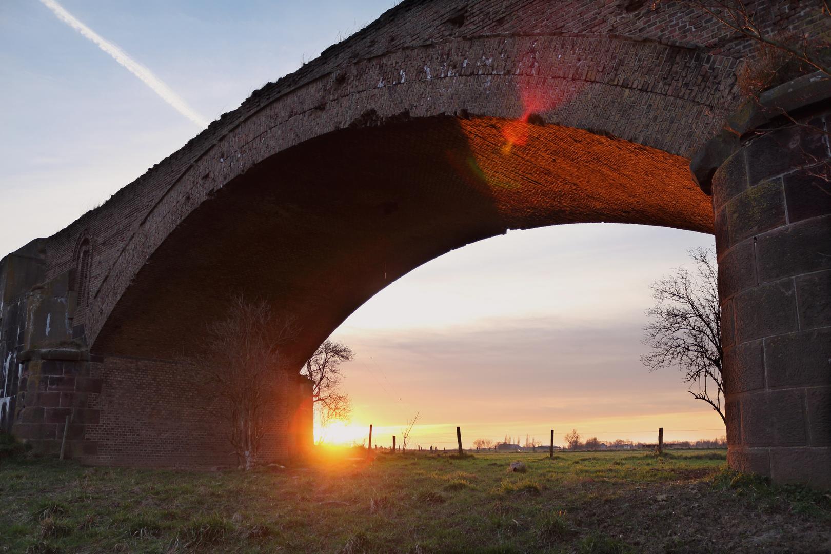 Alte Eisenbahnbrücke Wesel