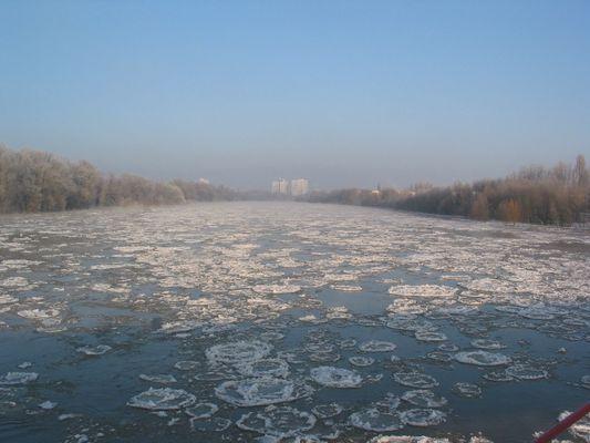 Alte Elbe in Magdeburg 1