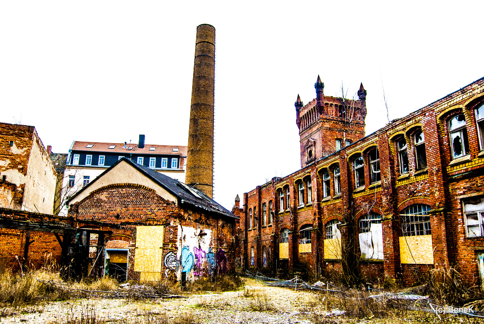 alte Fabrik in Leipzig