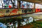 Alte Fabrikhalle - Spiegelung