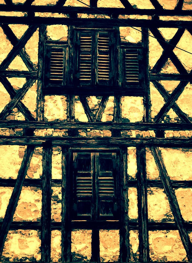 Alte Fasade