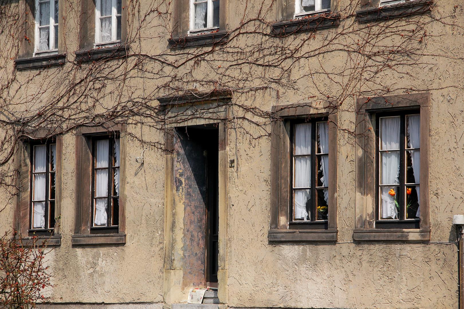 Alte Fassade....