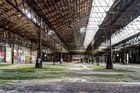Alte fast intakte Industriehalle
