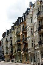 Alte Flensburger Häuserfronten